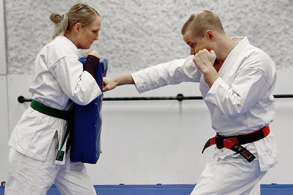 Jujutsu och kickboxning fungerar bra ihop
